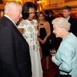 Michelle Obama and Queen Elizabeth II
