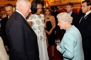 Michelle Obama and Queen Elizabeth II Photo