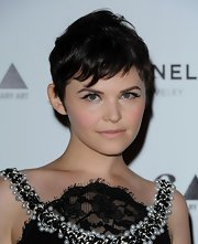 Ginnifer Goodwin wore her choppy cut slightly tousled at the MOCA Gala.