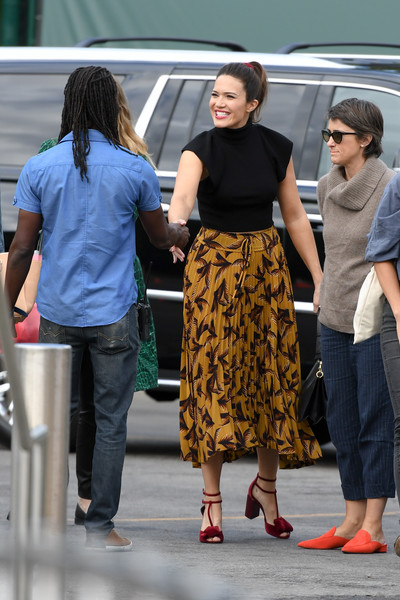 Mandy Moore Full Skirt