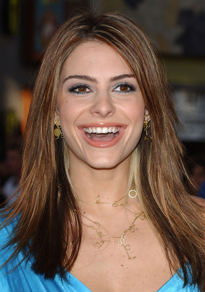 Maria Menounos Bright Eyeshadow