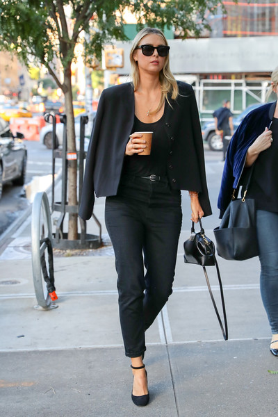 Maria Sharapova Cropped Jacket