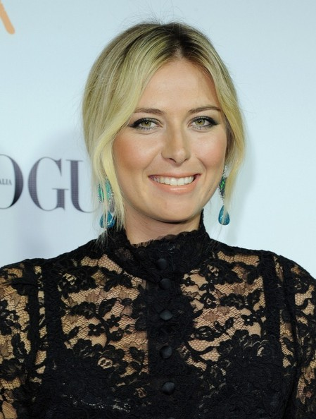 Maria Sharapova Hair