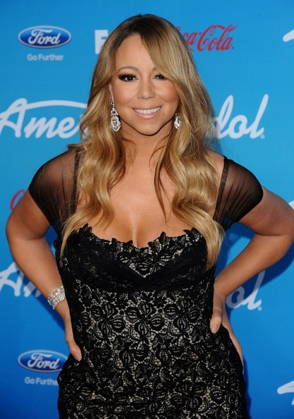 Mariah Carey Long Wavy Cut