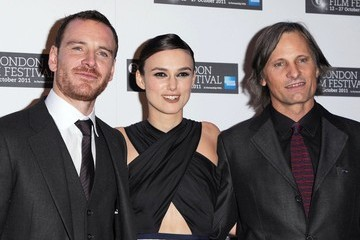 "Keira Knightley Michael Fassbender ""A Dangerous Method"" Premiere at the 55th BFI London Film Fest"