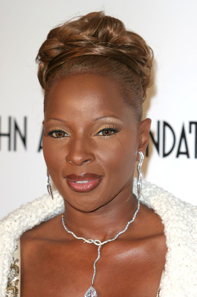 pics of mary j blige hair. Mary J. Blige Hair