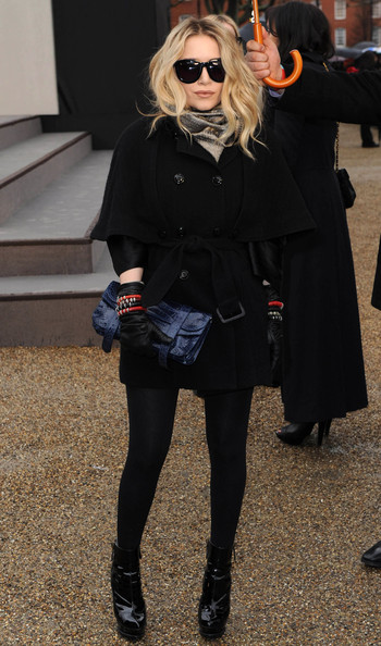 Mary-Kate Olsen Printed Clutch