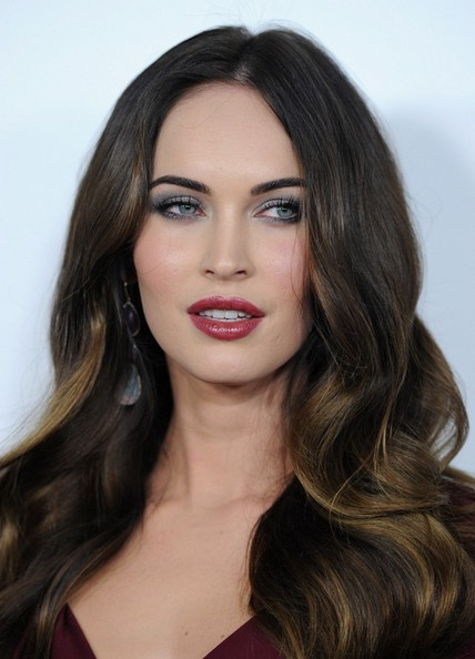 Megan Fox Long Wavy Cut