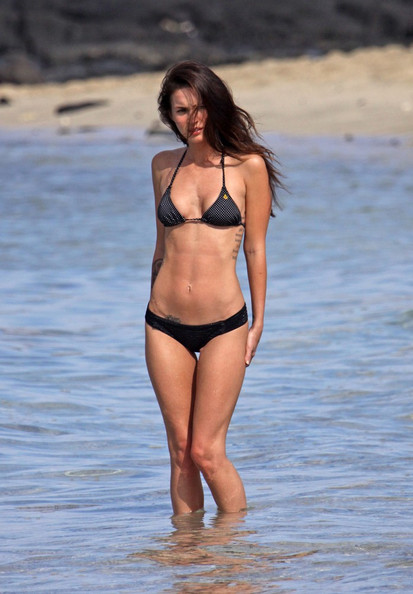 Megan Fox String Bikini