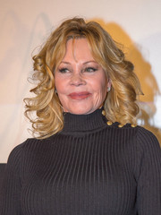 Melanie Griffith visited Lugner Kino City wearing her hair in bouncy curls.