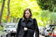 Melissa George Wool Coat