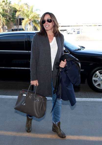 Melissa Rivers Leather Tote