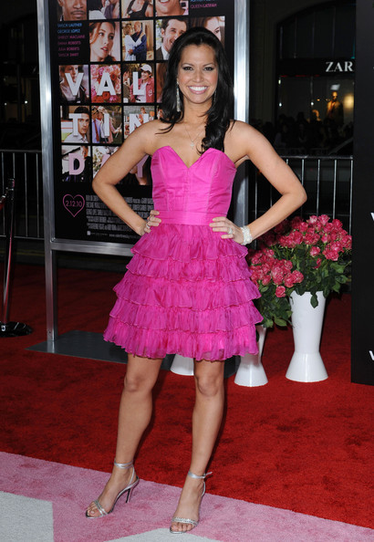 Melissa Rycroft Strapless Dress
