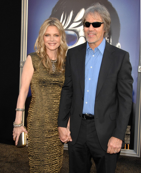 Michelle Pfeiffer Metallic Clutch