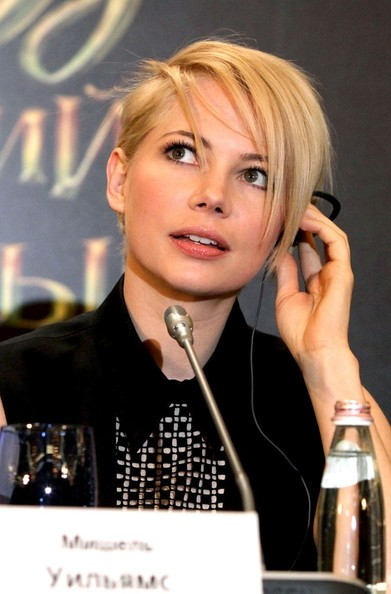 Michelle Williams Short Emo Cut