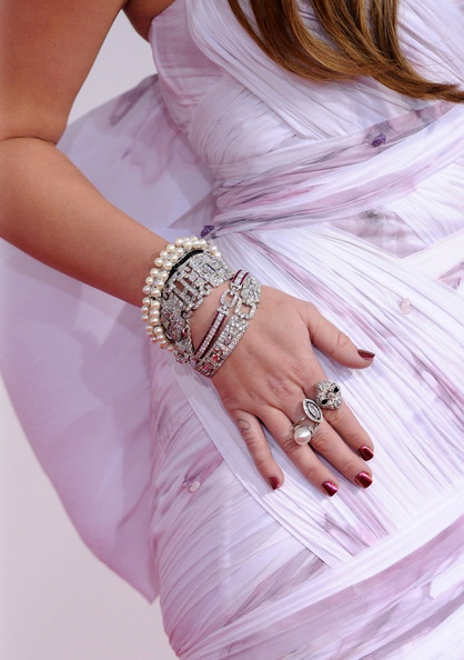 Miley Cyrus Pearl Ring