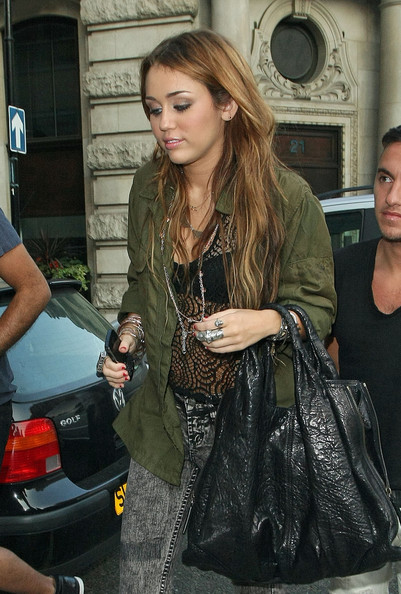 Miley Cyrus Military Jacket