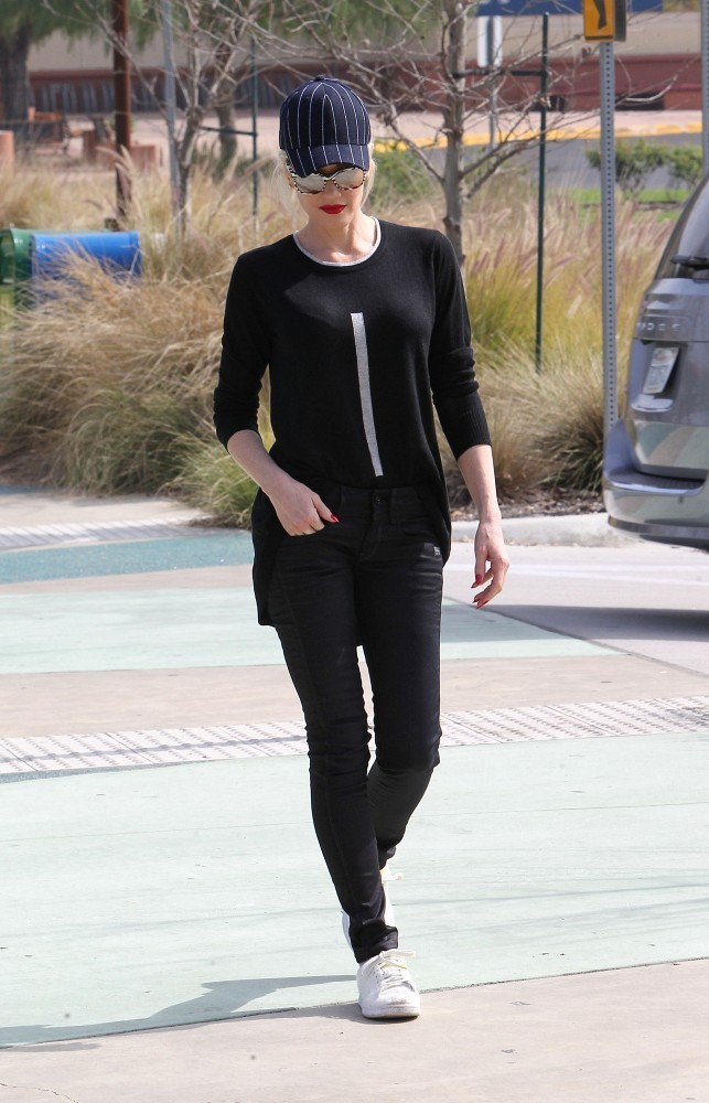 Gwen Stefani Out and About