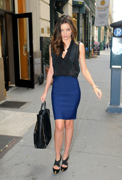 Miranda Kerr Pencil Skirt