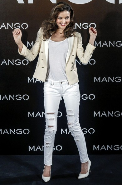 Miranda Kerr is the New Face of Mango