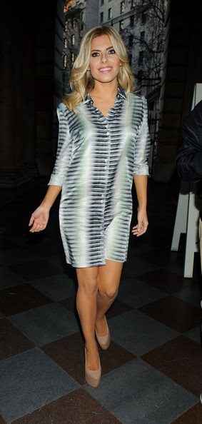 More Pics of Mollie King Shirtdress (3 of 7) - Dresses & Skirts Lookbook - StyleBistro
