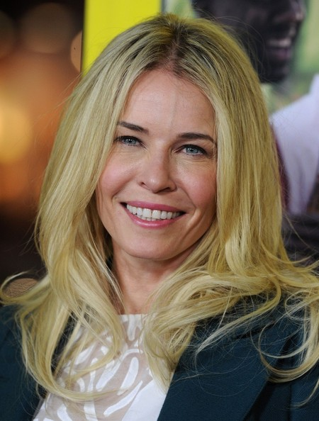 More Pics of Chelsea Handler Long Wavy Cut (5 of 12) - Long Wavy Cut Lookbook - StyleBistro