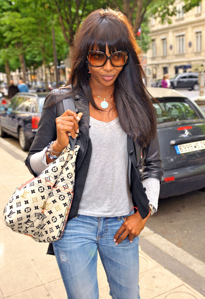 Naomi Campbell Canvas Tote []