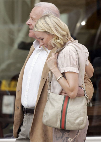 Naomi Watts Single Strap Tote