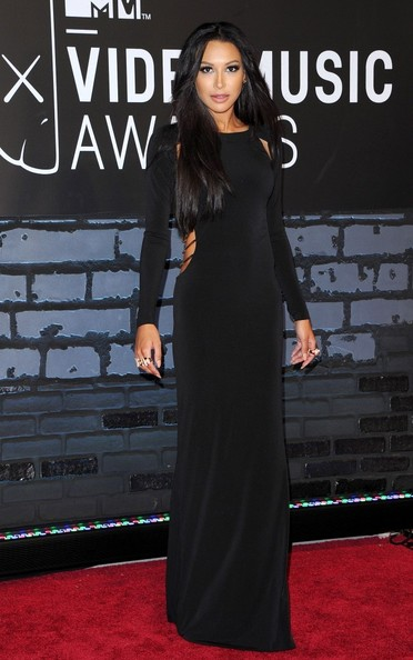 Naya Rivera Cutout Dress