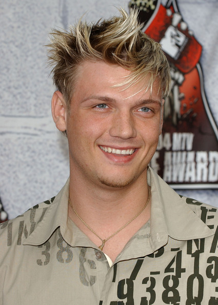 Nick Carter Spiked Hair