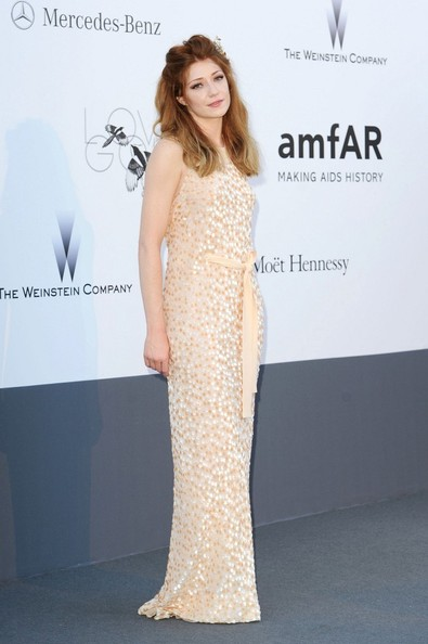Nicola Roberts Beaded Dress