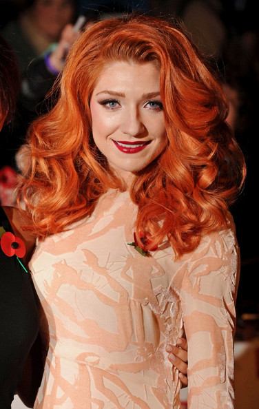 Nicola Roberts Long Curls