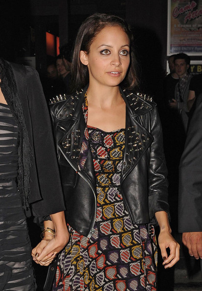 Nicole Richie Motorcycle Jacket