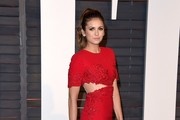 Nina Dobrev Cutout Dress