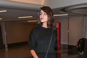 Olivia Culpo Quilted Leather Bag