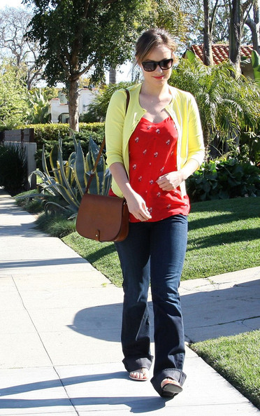 Olivia Wilde Walks in West Hollywood