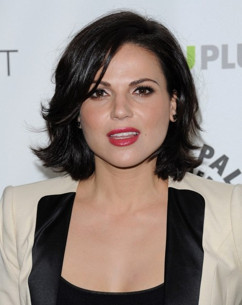 More Pics of Lana Parrilla Mid-Length Bob (1 of 5) - Lana Parrilla Lookbook - StyleBistro