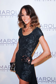 Sharni Vinson channeled Madonna in these lace wrist-length gloves.