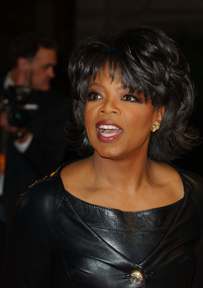 Oprah Winfrey Layered Razor Cut