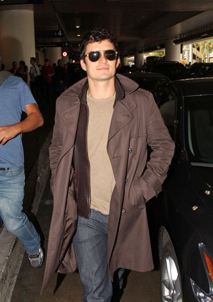 Orlando Bloom Aviator Sunglasses