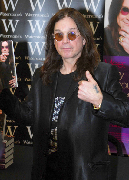 Ozzy Osbourne Long Straight Cut