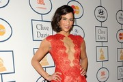 Paula Patton Fishtail Dress