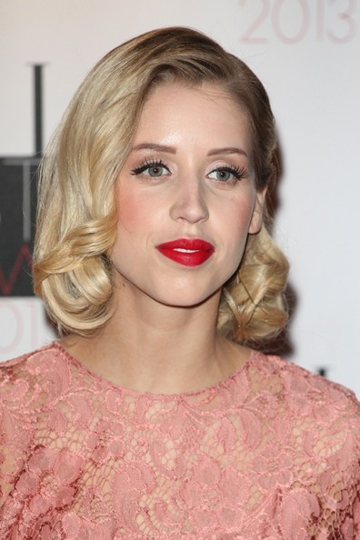 Peaches Geldof Red Lipstick