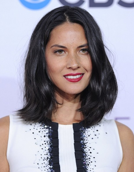 More Pics of Olivia Munn Evening Pumps (4 of 11) - Olivia Munn Lookbook - StyleBistro