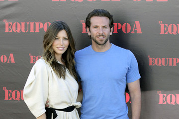 Jessica Biel Bradley Cooper Photocall for 'The A-Team'