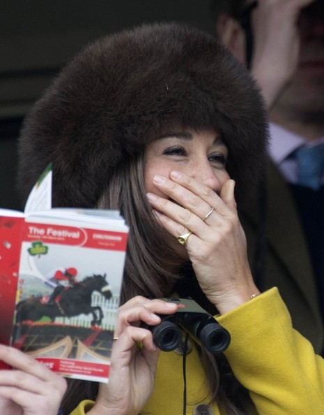 Pippa Middleton Goes to the Races 2