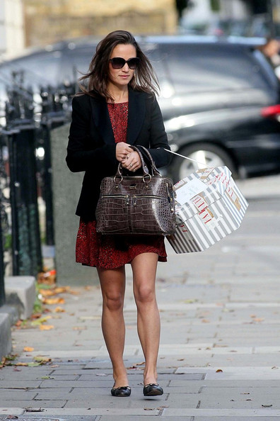 More Pics of Pippa Middleton Ballet Flats (1 of 10) - Ballet Flats Lookbook - StyleBistro
