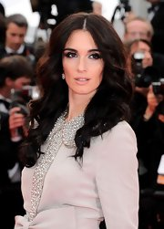 Paz Vega walked the red carpet at the Cannes Film Festival wearing diamond earrings set in 18-karat white gold.