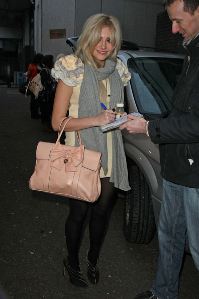 Pixie Lott Leather Tote
