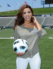Eva Longoria Parker has a small tattoo in the shape of a star on her left wrist.
